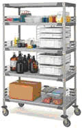 Super Erector Wire Shelving
